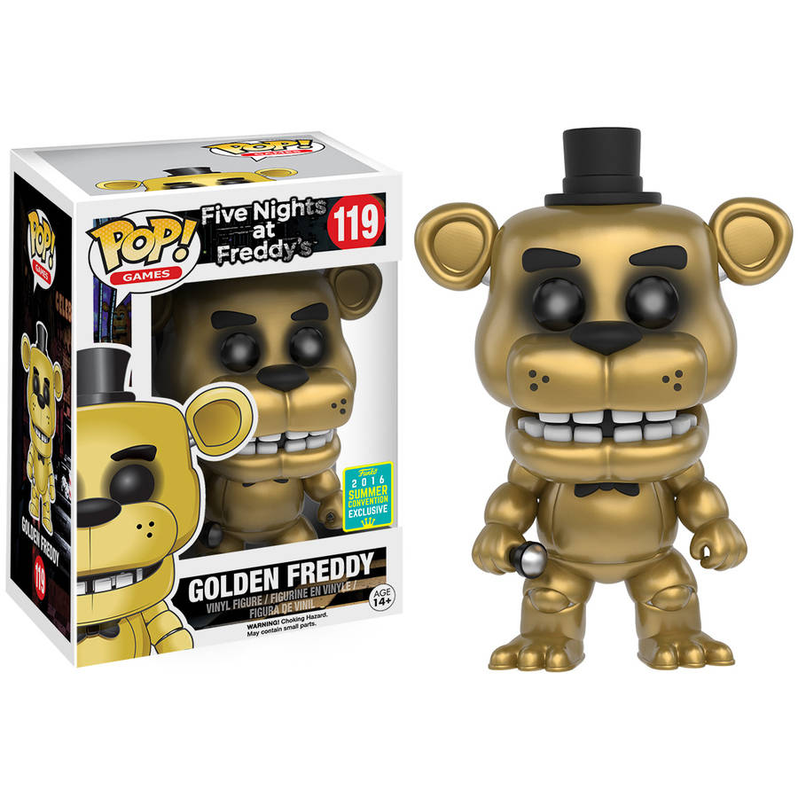 Funko POP Games: Five Nights at Freddy's , Golden Freddy Summer Convention Exclusive