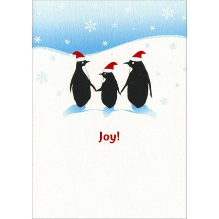 Avanti Press Penguin Family A*Press Christmas Card