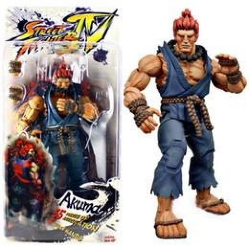 Neca Player Select Street Fighter Iv Survival Model Gouki Akuma Action Figure Toy Doll (1Pc)