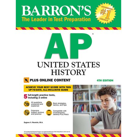 Barron's AP United States History with Online (United States History Preparing For The Ap Exam)