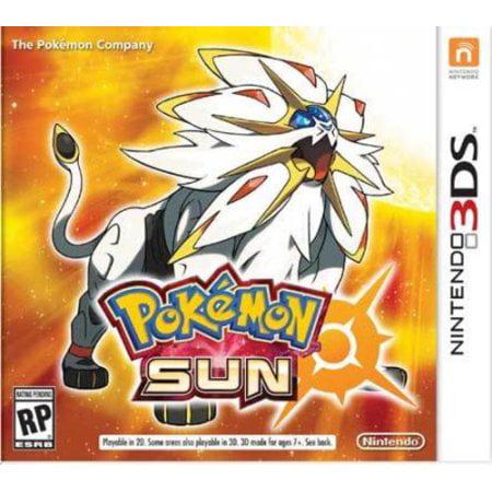Pokemon Sun (Nintendo 3DS) - Pre-Owned