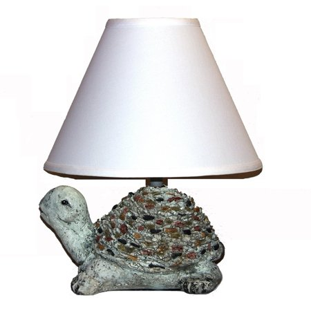 Crown lighting 1 light ceramic turtle table lamp walmart crown lighting 1 light ceramic turtle table lamp aloadofball Choice Image