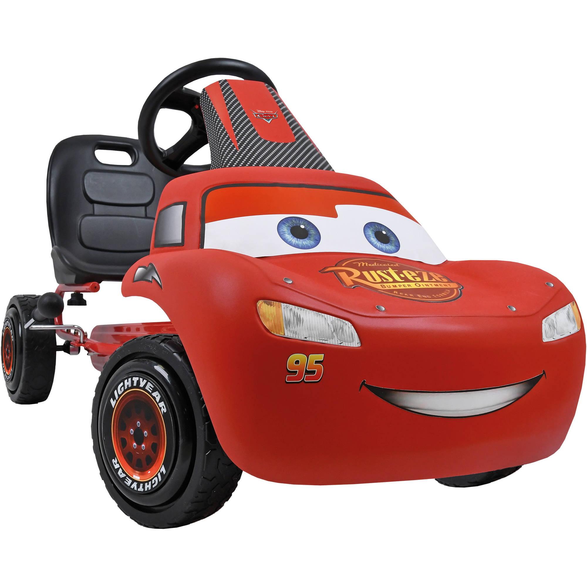 Disney Lightning McQueen Pedal Go Kart by Hauck