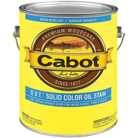 Cabot O.V.T. Solid Color Oil Exterior (Exterior Oil Stain)