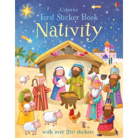 NATIVITY FIRST STICKER BOOK - Nativity Stickers
