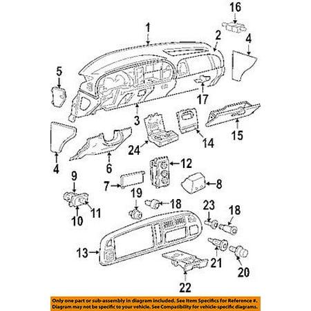 Dodge CHRYSLER OEM Ram 3500 Instrument Panel Dash-Glove