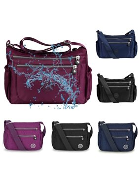ccb018257876 Product Image Vbiger Waterproof Shoulder Bag Fashionable Cross-body Bag  Casual Bag Handbag for Women, Purple