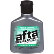 Afta Pre Shave Lotion and Skin Conditioner, Original - 3 fluid ounce