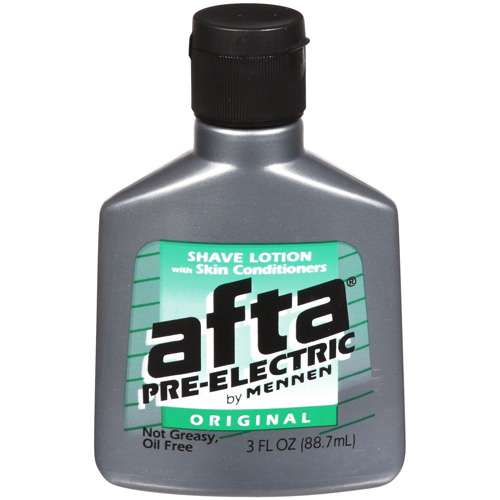 Afta Pre-Electric After Shave Lotion With Skin Conditioners - 3 -