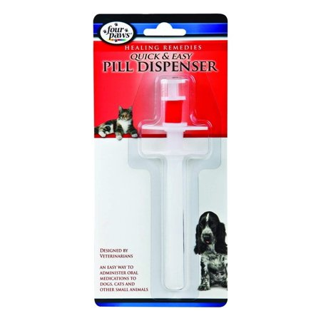 Quick and Easy Pet Pill Dispenser, Four Paws health and wellness products focus on overall pet well-being By Four - Pet Pill Dispenser