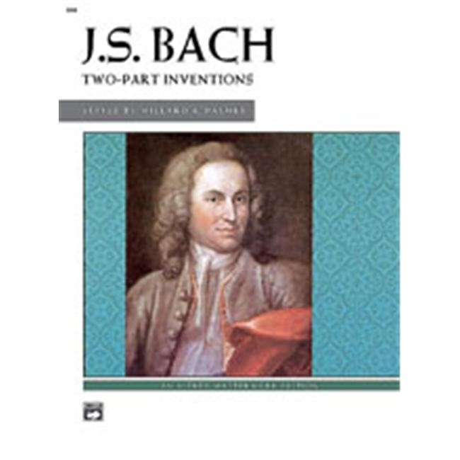 Alfred 00-604 Two-Part Inventions - Music Book