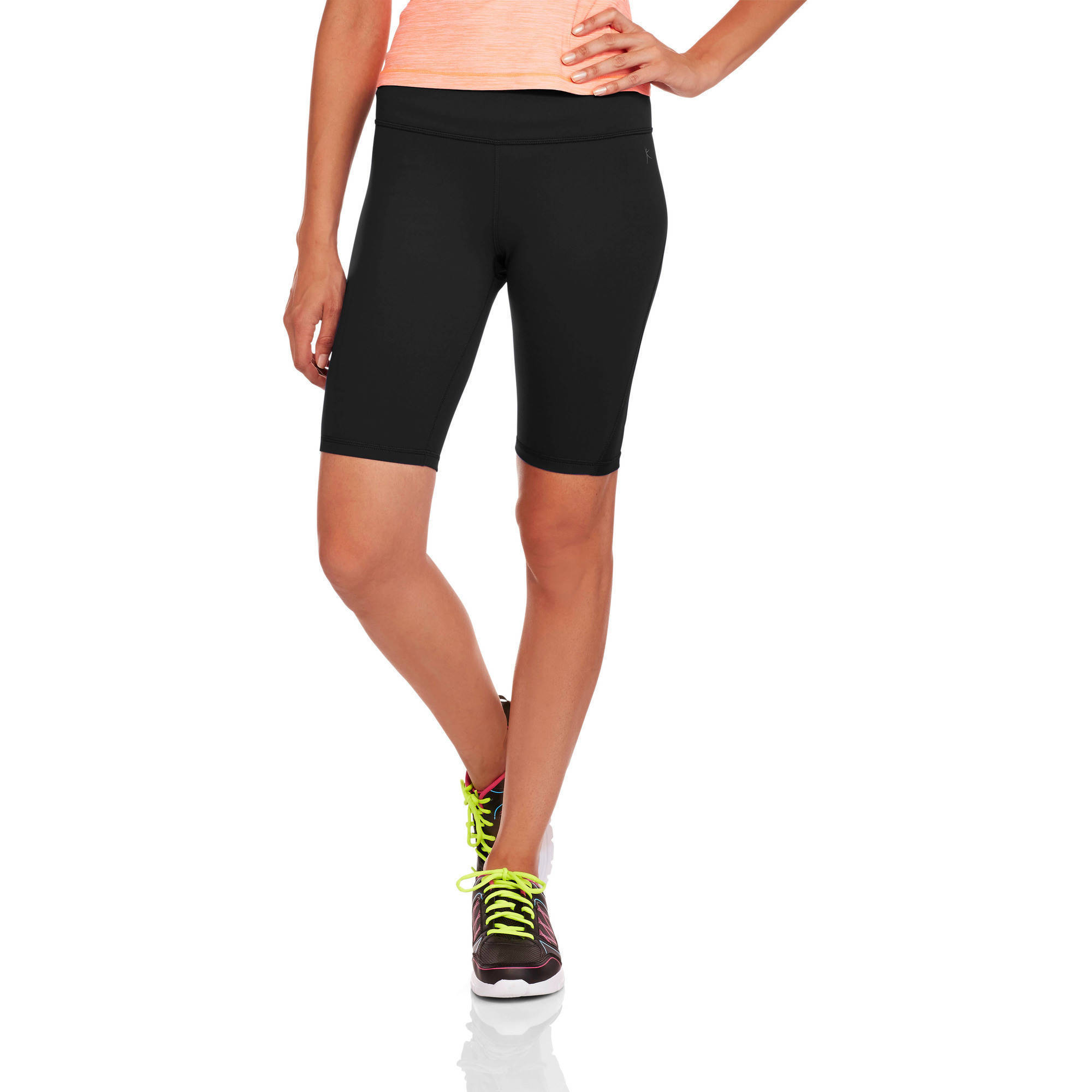 Danskin Now Women's Performance Compression Bermuda Shorts With Wicking Properties