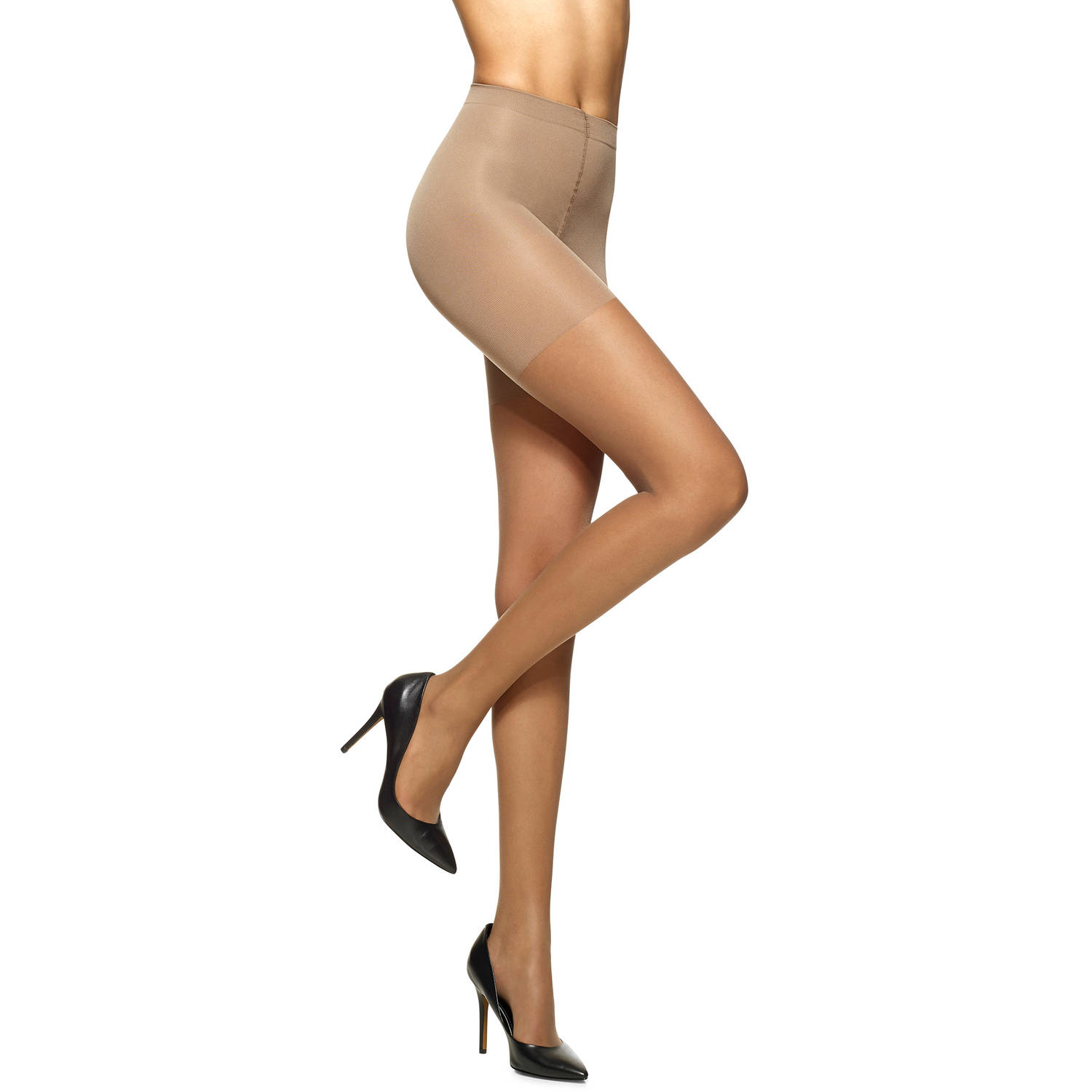 No nonsense low rise pantyhose
