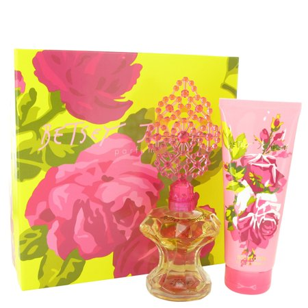 Betsey Johnson - Gift Set -- 3.4 oz Eau De Parfum Spray + 6.7 oz Body Lotion - Women
