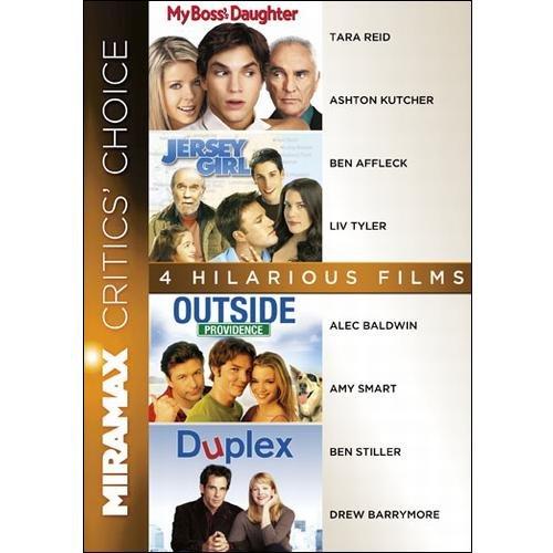 Miramax Classics: 4 Hilarious Films - My Boss's Daughter / Jersey Girl / Outside Providence / Duplex