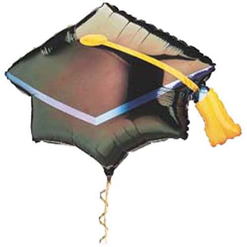 Graduation Cap Mylar Balloon