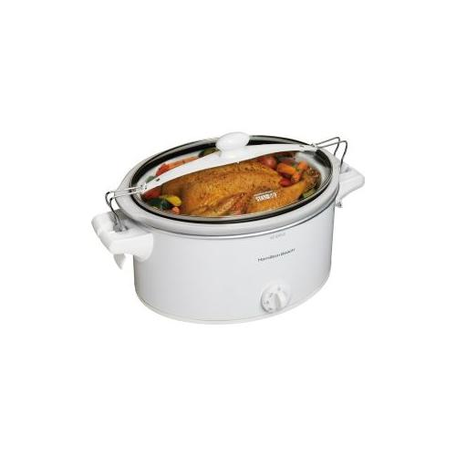 Hamilton Beach  Stay or Go 6-Quart Slow Cooker with Clip-Tight Lid-33263