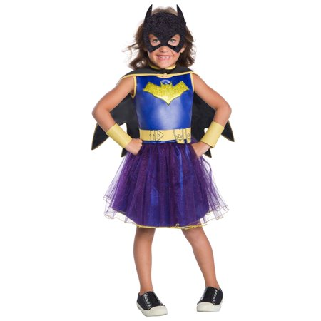 Batgirl Deluxe DC Comics Child Costume (Comic Book Character Costume)