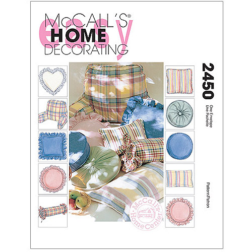 McCall's Pillow Essentials, All Sizes in 1 Envelope