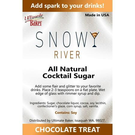 Snowy River Cocktail Sugar Chocolate Treat (Chocolate German Sugar)