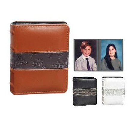 Pioneer Orleans Series Mini Max Bound Photo Album, Solid Color Covers with Textered Center Band, Holds 100 4x6
