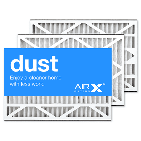 AIRx Filters Dust 16x25x3 Air Filter MERV 8 Replacement for White Rodgers FR1200TM-100 to Fit Media Air Cleaner Cabinet White Rodgers ACM1200TM-100, 3-Pack