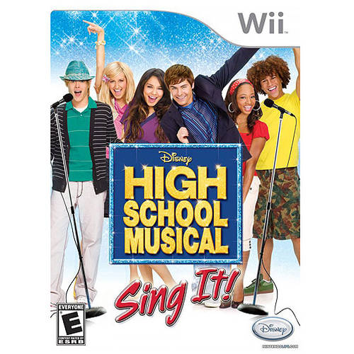 Hsm Sing It Game Only (Wii) - Pre-Owned
