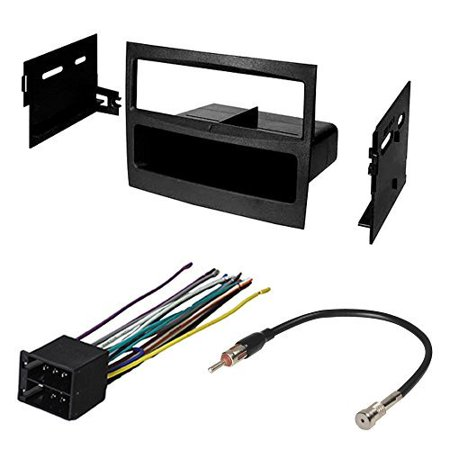 CAR STEREO RADIO CD PLAYER RECEIVER INSTALL MOUNT KIT HARNESS RADIO ANTENNA ADAPTER PONTIAC GTO 2004 2005
