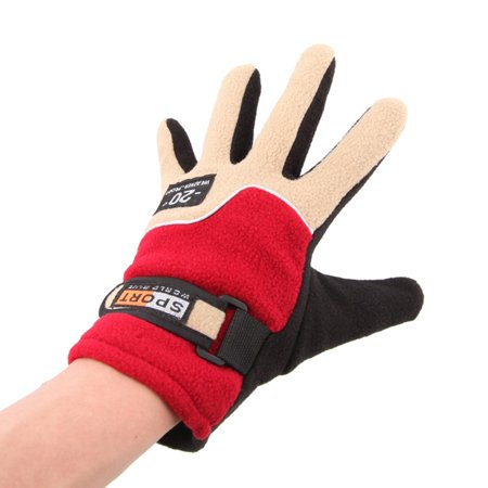 Warm Fleece Women Outdoor Gloves Autumn Winter Female Sports Gloves Breathable Hunting Cycling Full Finger Gloves - image 6 of 8