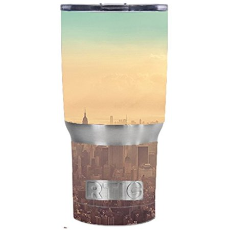 Skin Decal Vinyl Wrap For Rtic 20 Oz Tumbler Cup  6 Piece Kit  Stickers Skins Cover   New York City