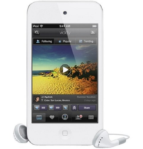 Refurbished Apple iPod Touch 8GB MD057LL/A White 4th Generation