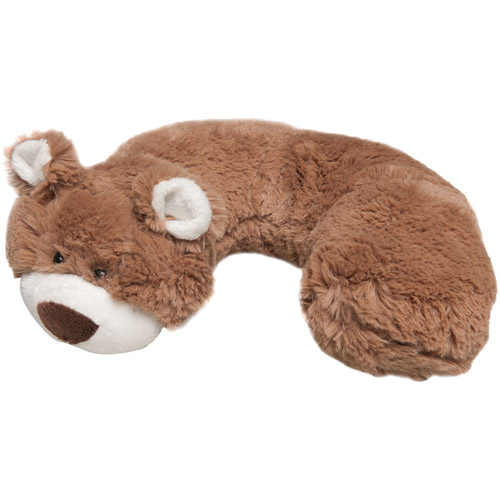 HIS Juvenile Animal Planet Neck Support Pillow, Bear