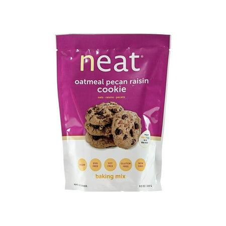 Neat Vegan Cookie Baking Mix - (9.5 oz.) - Oatmeal Pecan Raisin 1