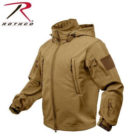 Rothco Special Ops Tactical Soft Shell Jacket - Coyote Brown, Medium