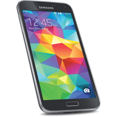 Samsung Galaxy S5 SM-G900A - 16GB - Charcoal Black (AT&T) Smartphone