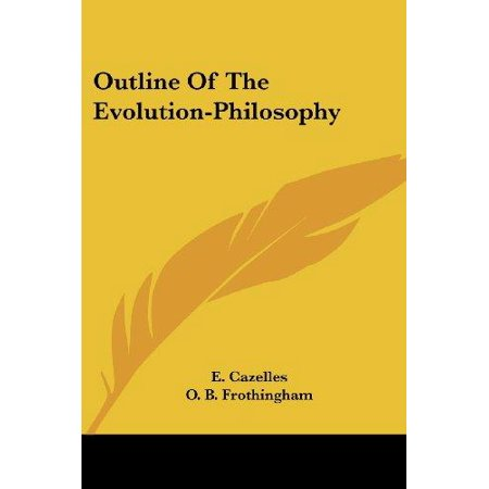 Outline of the Evolution-philosophy - image 1 of 1