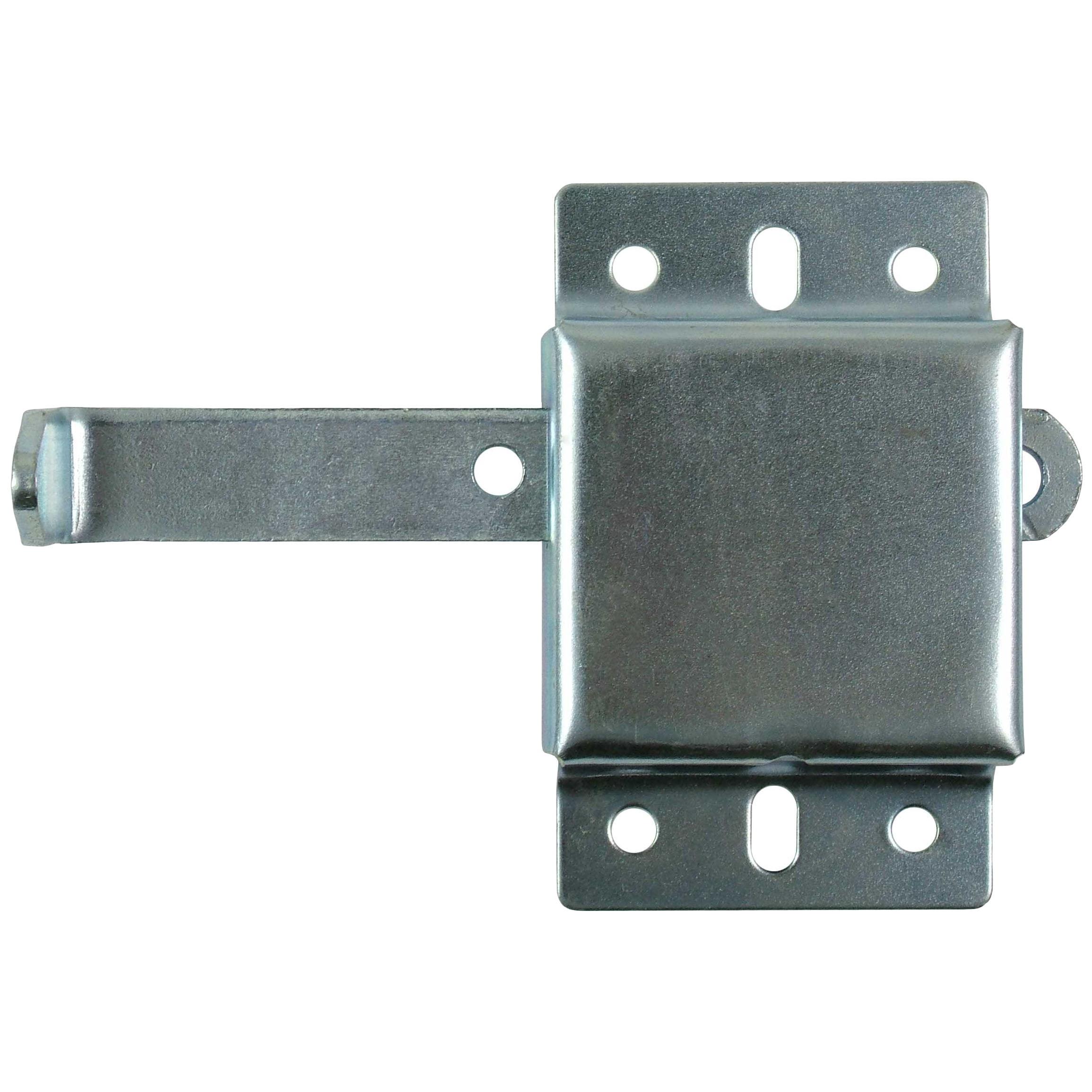 Right Han Garage Door L-Handle Lock with Inside Slide Lock Latch Mechanism Set