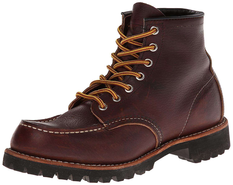 Moc Toe Lug Briar Oil Slick Boots