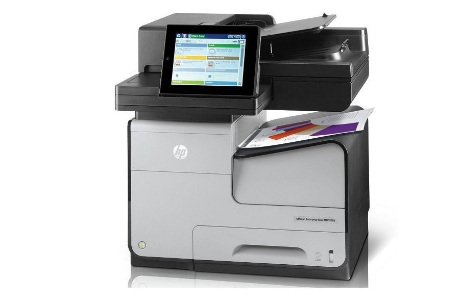 HP OfficeJet X585Z InkJet MultiFunction Color USB Ethernet Printer B5L06A#BGJ by HP