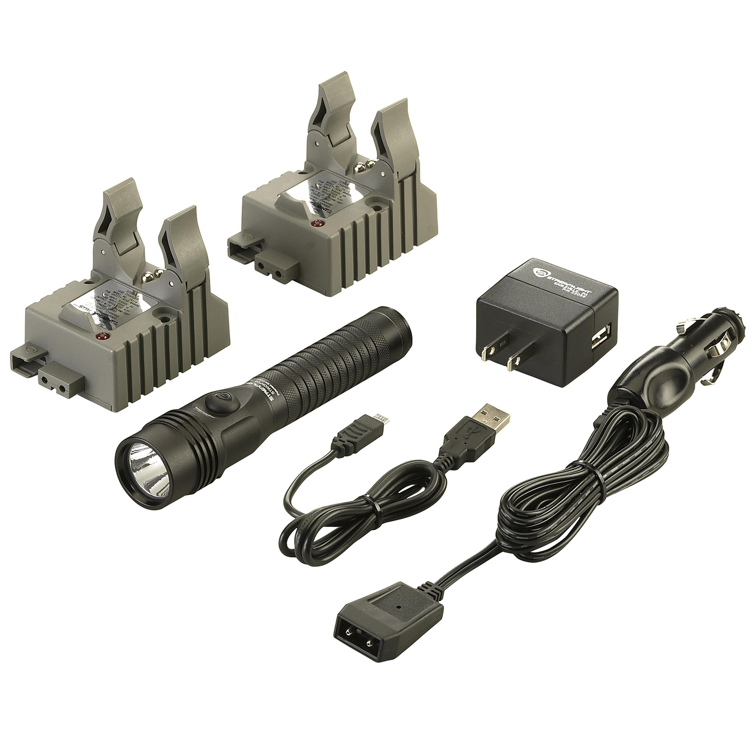 Streamlight Strion DS HL IEC Type A (120V/100V) AC/12V DC, 2 Holder
