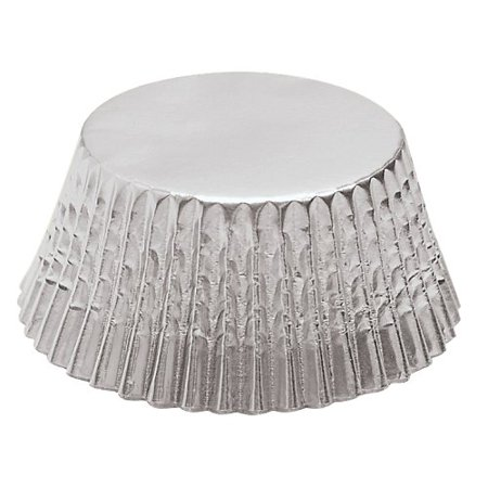 Silver Foil Petit Four Bake Cups 48 Per Pack By Fox Run Ship From US
