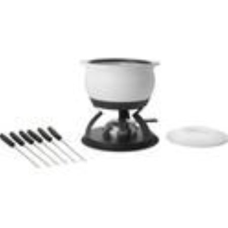 Trudeau 3 in 1 fire Proof 2.3 quart Fondue set
