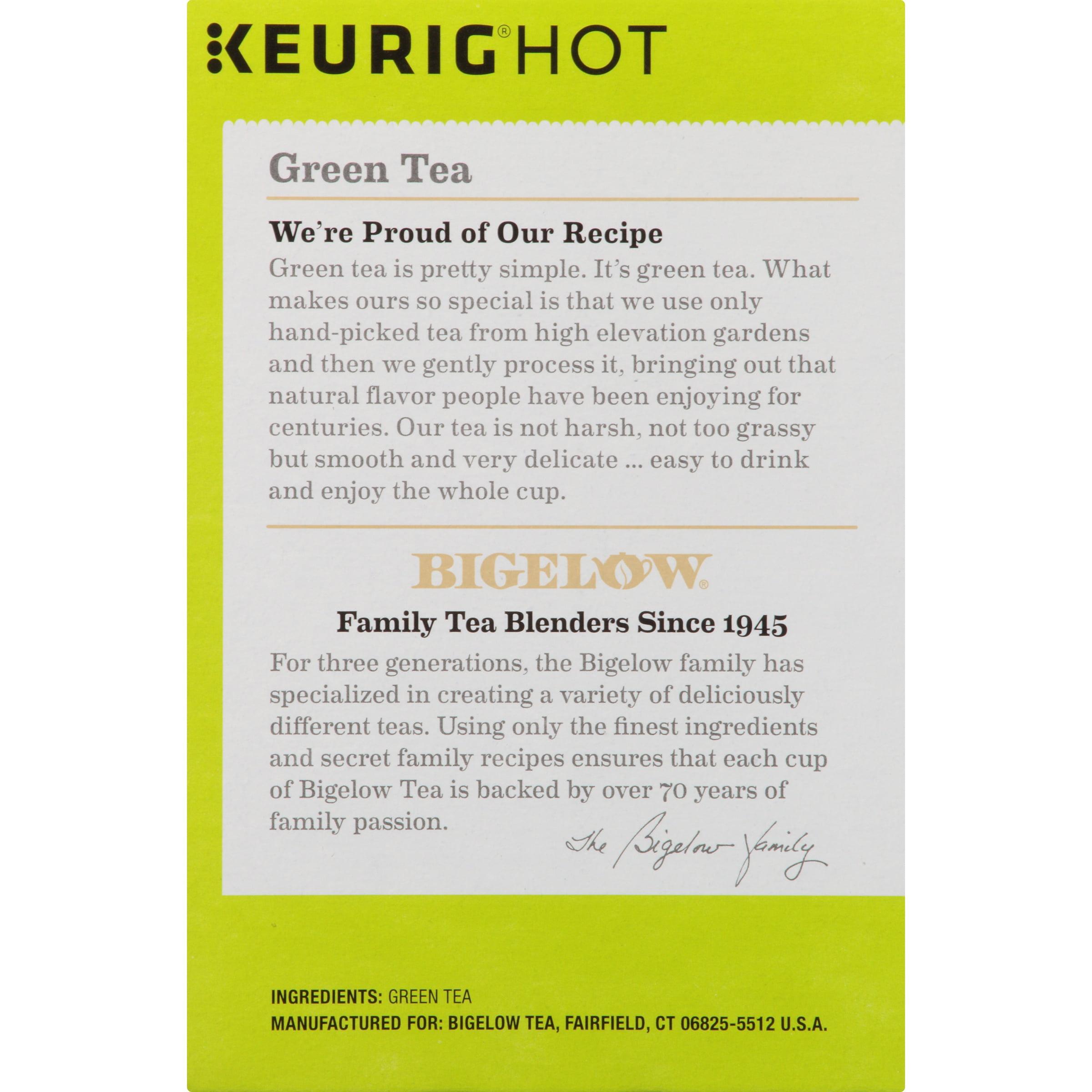Bigelow Green Tea Keurig K-Cup Tea Pods