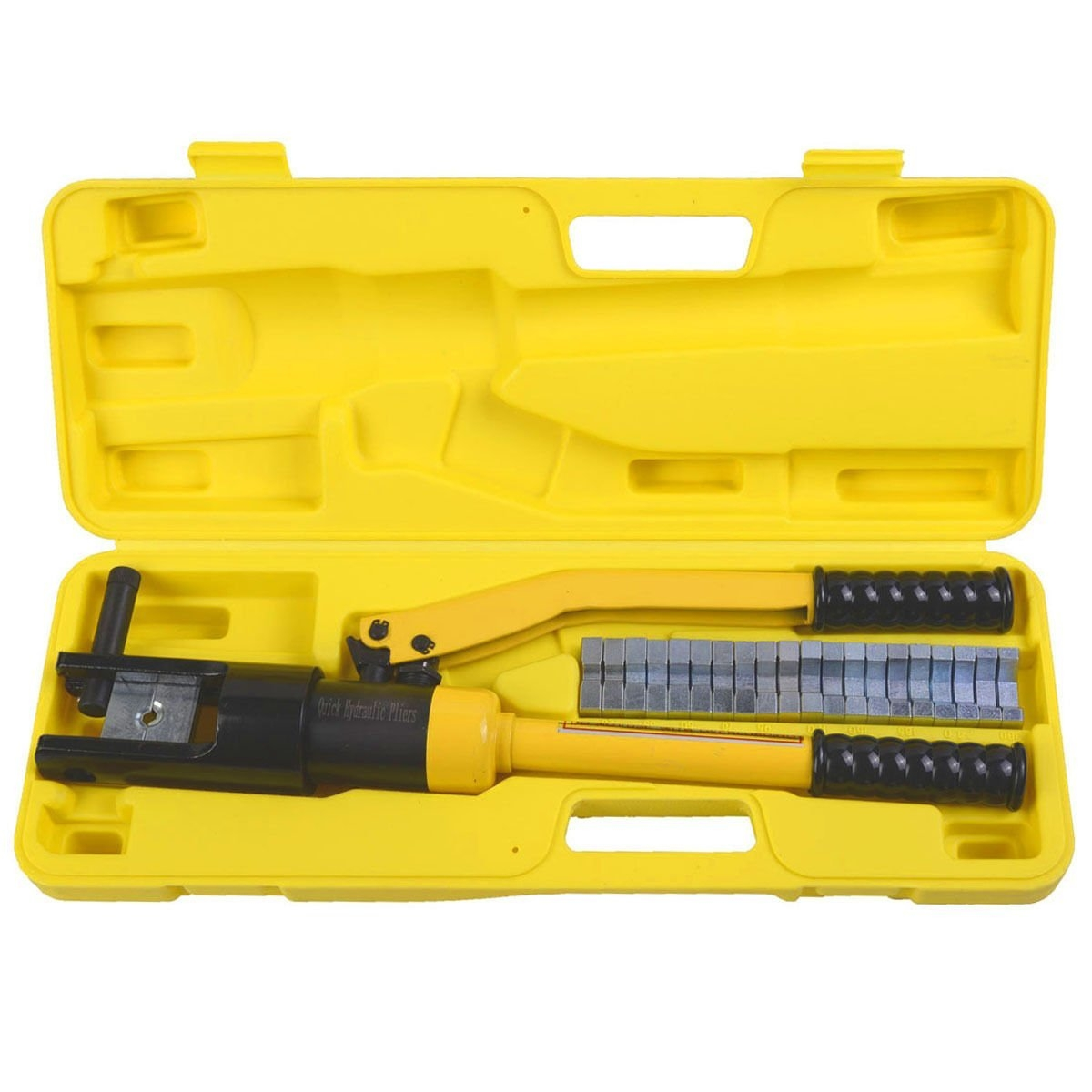 16 Ton Hydraulic Wire Terminal Crimper Battery Cable Lug ...
