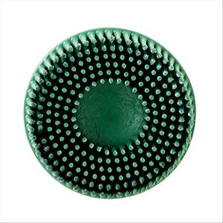 Scotch-Brite Roloc Bristle Disc 07524 Green, 2