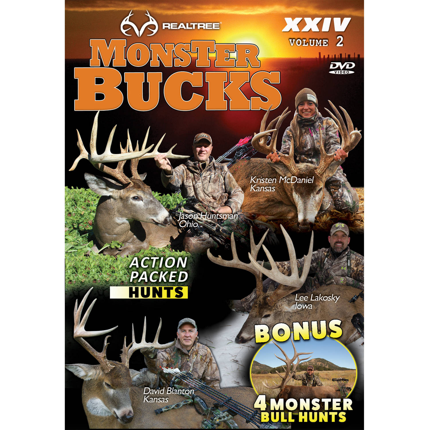 Realtree Outdoors DVD Monster Bucks XXIV, Volume 2 by Realtree Outdoors
