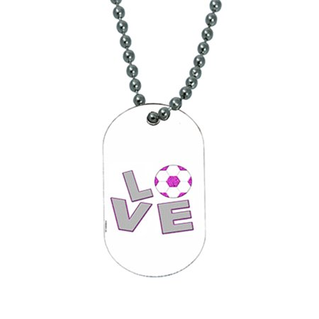 Buy Glow Necklaces (KuzmarK Pendant Dog Tag Necklace - Love Boys)