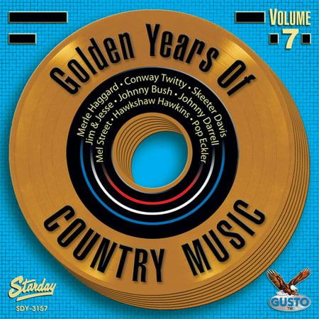 Golden Memories Of Country Music, Vol. 7 (CD)
