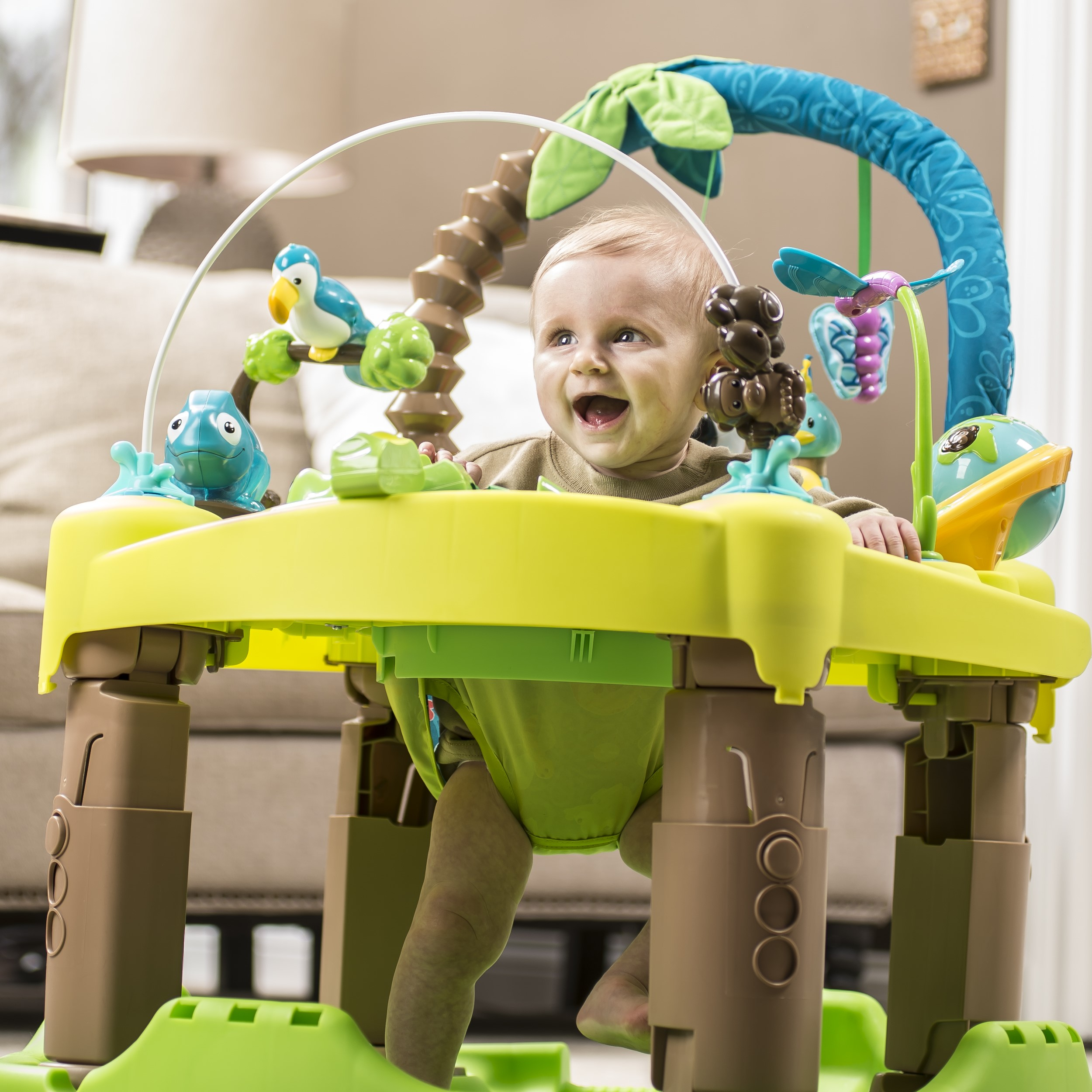 3d4f2b90b Evenflo Exersaucer Triple Fun Entertainer