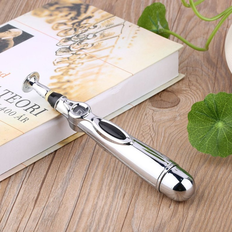 2018 NEW Upgraded New Electric Acupuncture Health Pen Meridian Body Massage Pain Relief Therapy Electronic Meridian Energy Pen massager